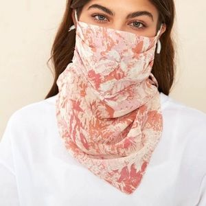 Accessories - 🎉JUST IN! Pink Tie Dye Scarf Face Mask